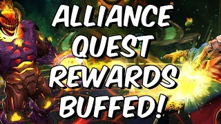 Alliance Quest Rewards Buffed + Glory Store Update Patch 16.0  - Marvel Contest Of Champions