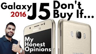 Samsung Galaxy J5 2016 | Don't Buy My Honest Opinions Not a Review