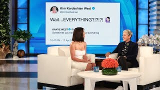 Kim Kardashian on Kanye West