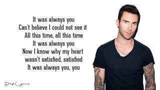 It Was Always You - Maroon 5 (Lyrics) 🎵
