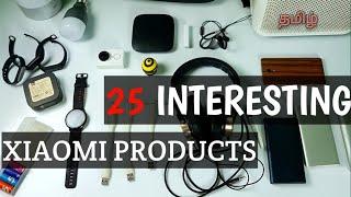 25 Interesting Xiaomi Products in Tamil / தமிழ்