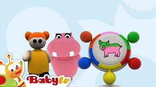 Hippa Hippa Hey - Color Game | BabyTV