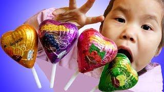 Finger Family of Sweets | Johny Johny Yes Papa | Learn Color