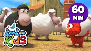 Baa, Baa, Black Sheep - Great Songs for Children | LooLoo Kids