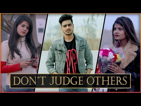 DON T JUDGE OTHERS WHEN U ARE NOT PERFECT Rachit Rojha ft. I am Desi World