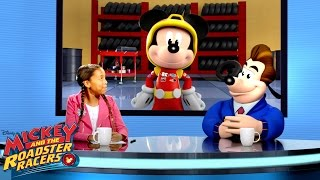 Inside the Garage | Behind the Racers | Mickey and Roadster Racers | Disney Junior