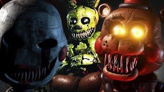 HUNTING HUMANS AS NIGHTMARE SPRINGTRAP?!   Sinister Turmoil #3 GAMEPLAY Screenshots + Breakdown