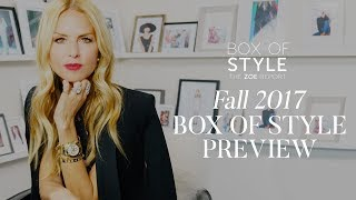 Fall 2017 Box of Style Preview | The Zoe Report by Rachel Zoe