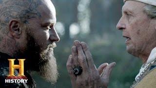 Vikings: Ragnar is Baptized (Season 3, Episode 9) | History