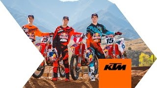 2016 Red Bull KTM Supercross Factory Racing Team Introduction    KTM