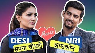 When Angrezi Babu Meets Desi Mem feat. Sapna Choudhary | Aashqeen