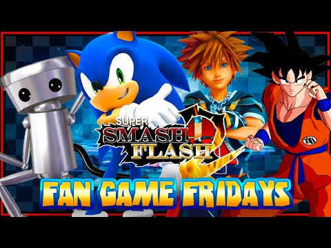 Fan Game Fridays Super Smash Flash 2