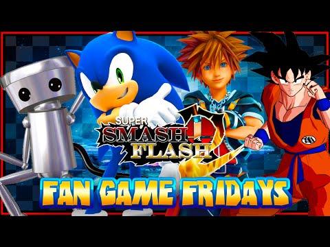 Fan Game Fridays - Super Smash Flash 2