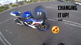 NEW LOOK For The GSX-R (AGAIN) | Str805Speed | THECROW_CAM