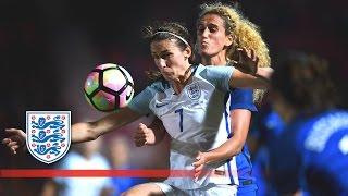 England Women 0-0 France Women | Goals & Highlights