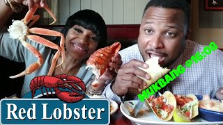 Red Lobster Seafood Mukbang /Lobster /Crab Legs/Lobster Tacos/Pasta