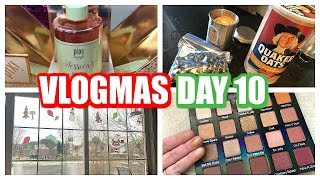VLOGMAS DAY 10 | Cleaning, Cereal