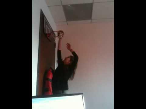 Persian Girl Office Jam