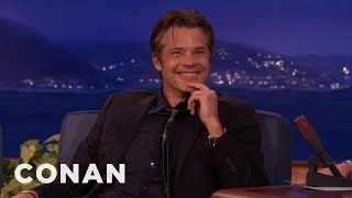 Timothy Olyphant Outs The One D-Bag On