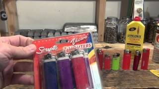 Different kinds of lighters & my favorites - HD