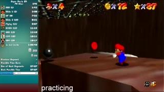 70 Star Speedruns (Goal: under 1 hour) - Super Mario 64