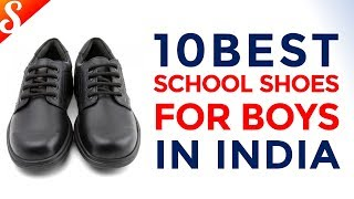 10 Best School Shoes for Boys (Black) in India with Price