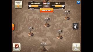 Clanwar KickAssAt™ vs Fun !! - 3 Star Attacks - Clash of Clans