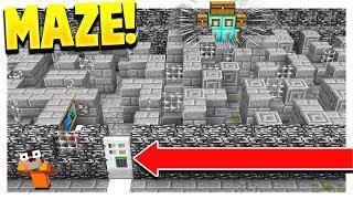 INSANE MINECRAFT PRISON MAZE! (Minecraft Prisons #5)