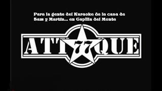 Beatle- Attaque 77 (KARAOKE)