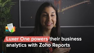 Luxer One powers their business analytics with Zoho Reports