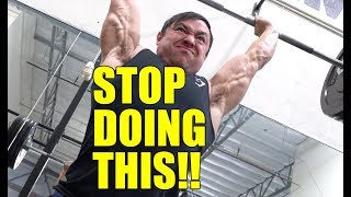 Top 10 Overhead Press Mistakes to Avoid