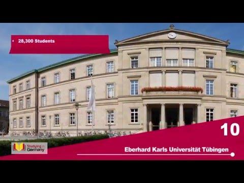 Top 10 Universities in Germany 2015/16
