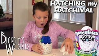 Hatchimal Hatching with Blakely