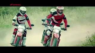 2018 new Honda CRF150L (Indonesia) short promo video
