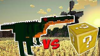 DINOSSAURO VS. LUCKY BLOCK (MINECRAFT LUCKY BLOCK CHALLENGE)