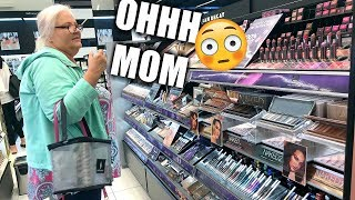 MY MOM BUYS MY MAKEUP FOR ME | OMG
