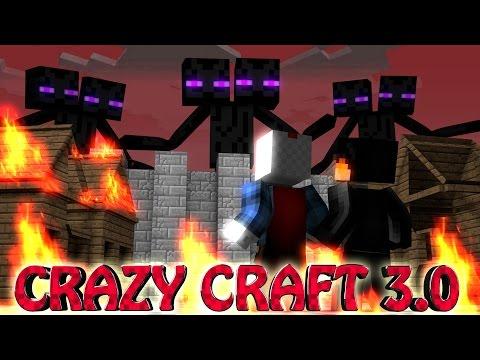 Minecraft crazy craft 3 0 ep 3 titans attack daikhlo for Http test voidswrath com modpacks crazy craft 3 0