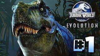 Building Jurassic World!! - Jurassic World Evolution   Ep1