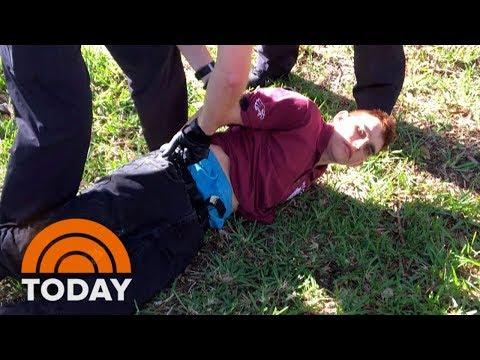 Xxx Mp4 Former Student Nikolas Cruz In Custody After Florida School Shooting Leaves 17 Dead TODAY 3gp Sex