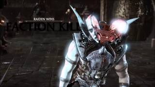 All Faction Kills in Mortal Kombat X
