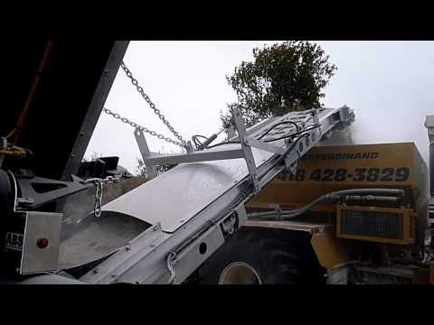 ABS Remorques RC448 avec attachement pour chaux
