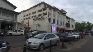 Walking around Paramaribo, Suriname August 2016 video 3