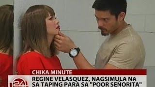 24 Oras: Regine Velasquez, nagsimula na sa taping para sa
