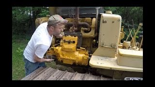 Caterpillar RD6/D6 Pony Motor Reinstallation, Startup, and Drive
