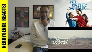 Nil Battey Sannata Official Trailer Reaction