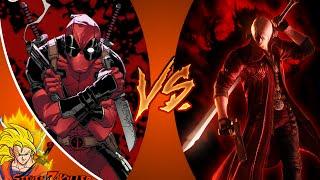 DEADPOOL vs DANTE! Cartoon Fight Club Episode 89 REACTION!!!