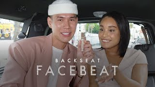 We Tested Patrick Ta's Major Glow Body Oil In The Back of a Moving Car | Back Seat Face Beat | ELLE
