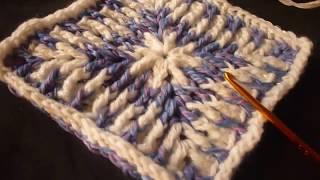 مفرش كروشيه بطريقة جديدة شرح خطوة خطوةCrochet Mattress