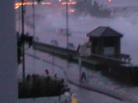Friday 13th Nov 09 - Evening Storm, Penzance, Cornwall, UK,
