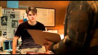 Famous Movie Scene: Good Will Hunting
